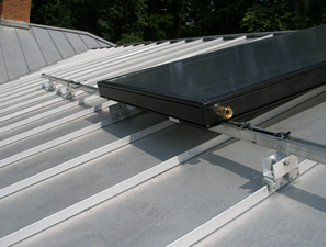 Mounting Hardware For Solar Collectors And Solar Water Panels